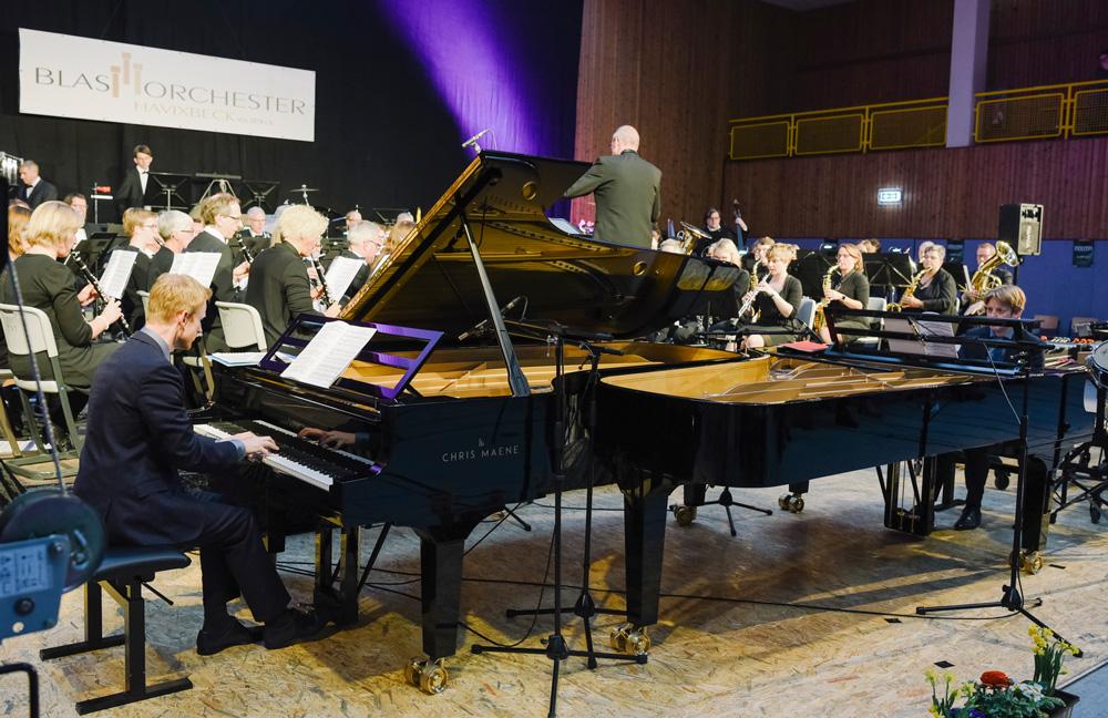 Blasorchester-Havixbeck-mit-Stefan-und-Martijn-Blaak