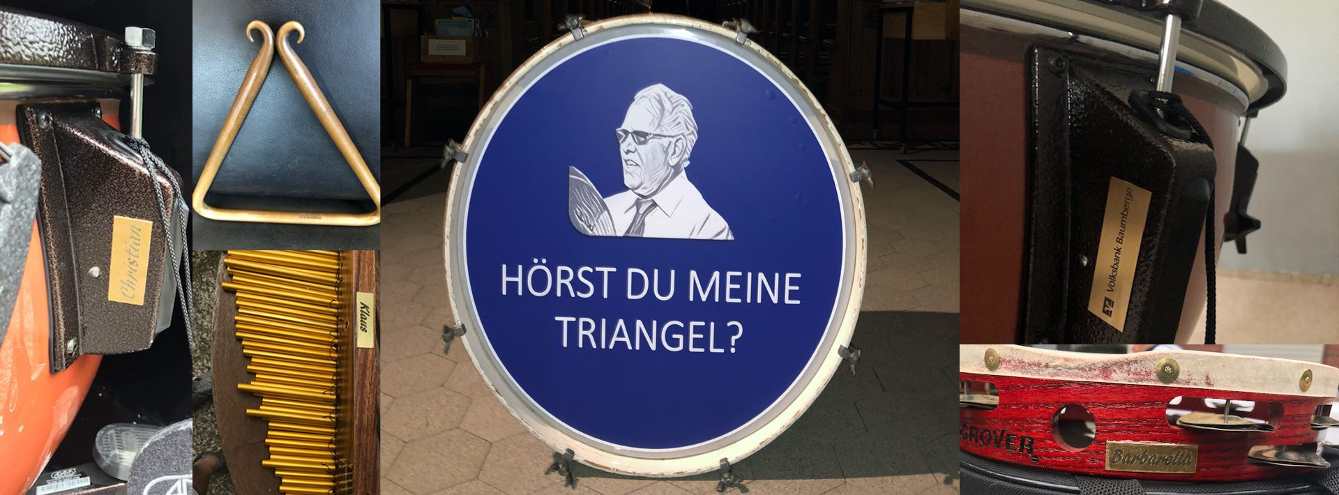 Hörst du meine Triangel - Wir sammeln für unser Schlagzeug